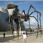 Музей Гуггенхайма в Бильбао. Скульптура паука