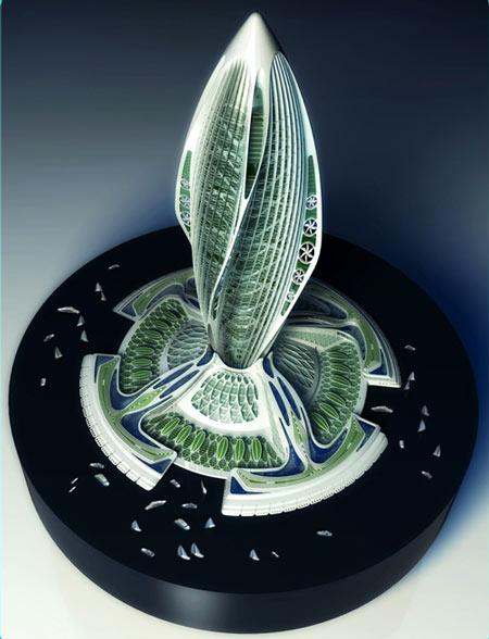 «Гидрогеназа» – проект Винсана Каллебо (Vincent Callebaut)