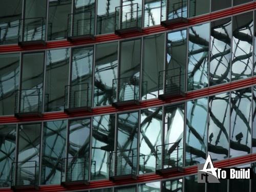 Sony Center. Берлин, Германия.