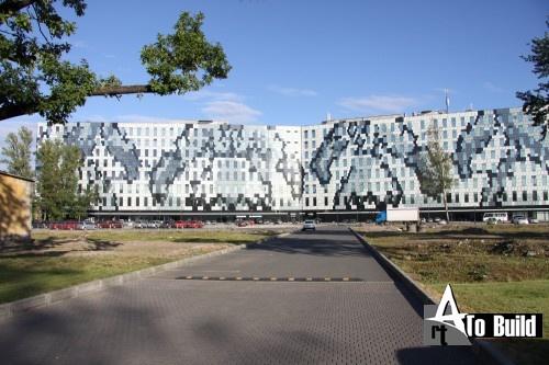 Бизнес-центр Бенуа, вид со двора