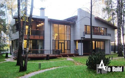 Проект частного жилого дома 500м2 2015г